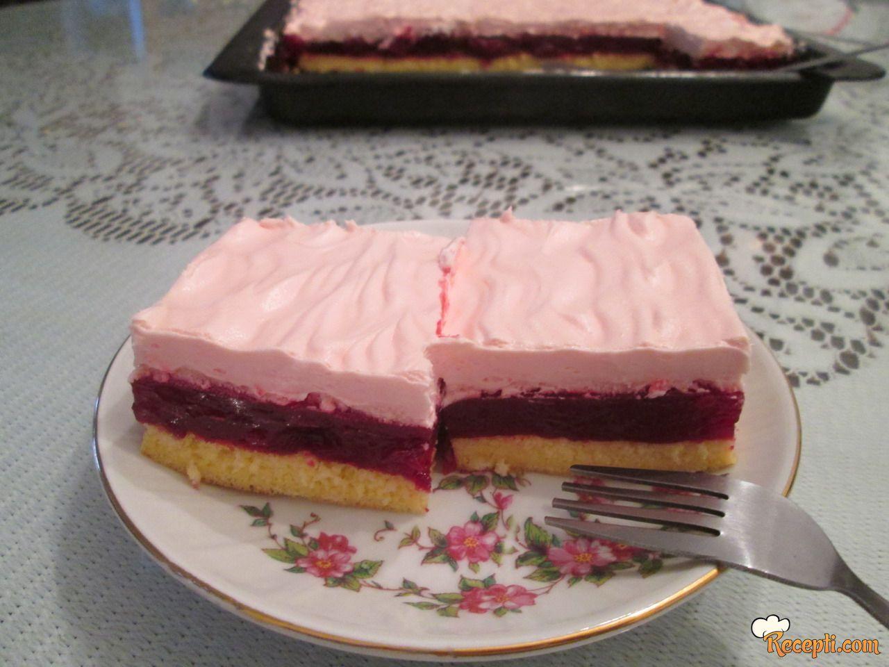 Voćni kolač sa višnjama