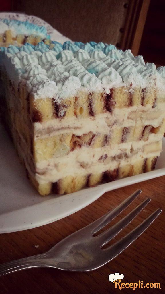 Banana torta (8)