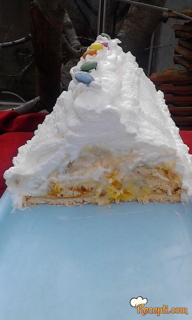 Banananarandža torta