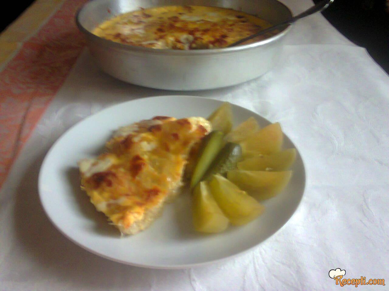 Krompir sa sirom i jajima