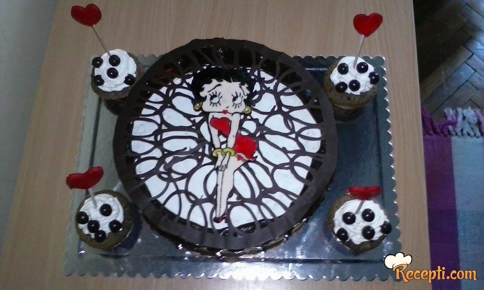 Dusicina Betty torta