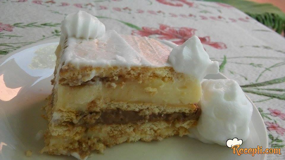 Najbrži kolač na svetu :) Puding kolač