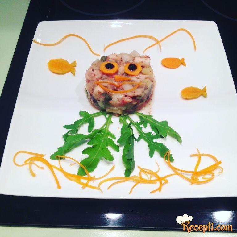Salata od hobotnice (3)
