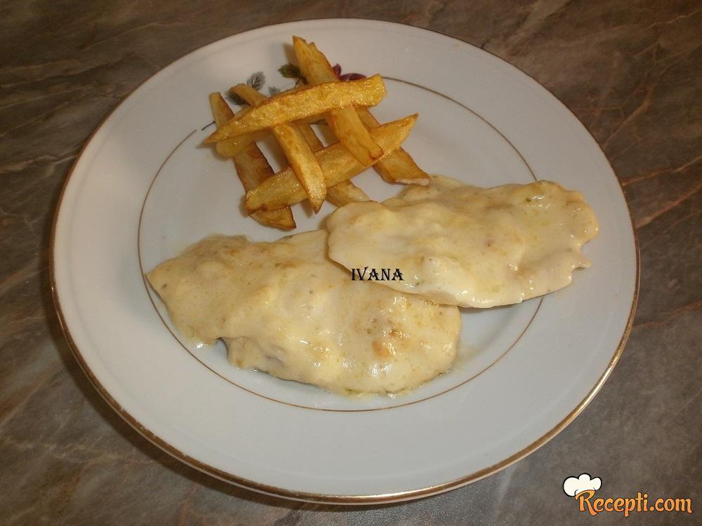 Piletina quattro formaggi