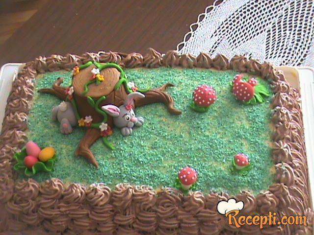 Uskršnja egipatska torta