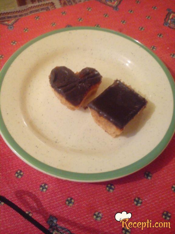 Medeno srce kolač (2)