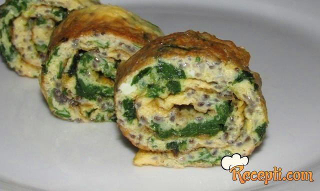 Chia omlet