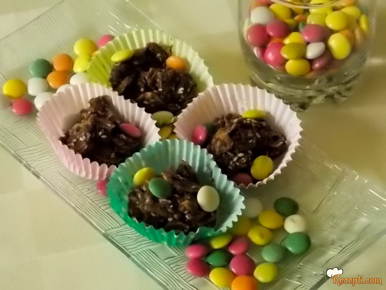 Čokoladni čupavci
