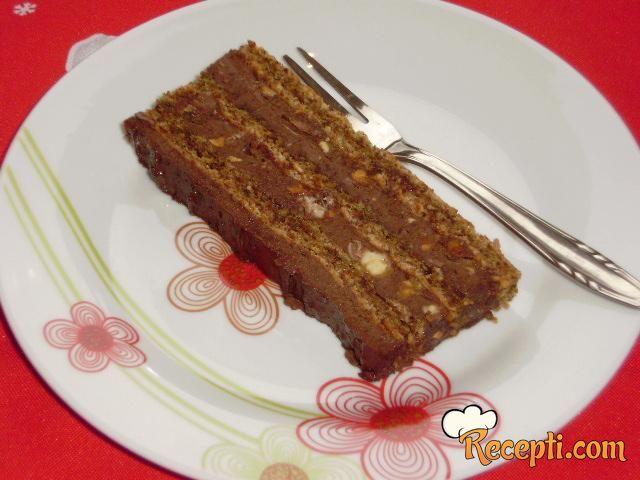 Čokoladna torta sa kikirikijem