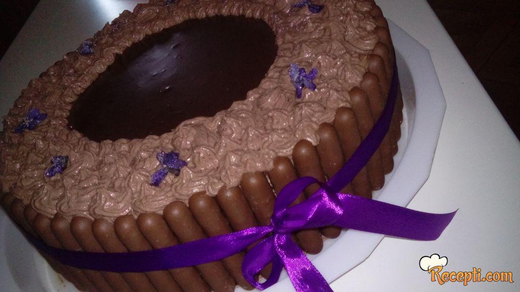 Čokoladirana tortica