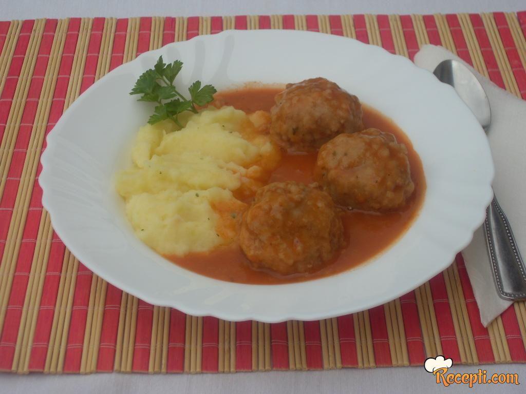Ćufte u paradajz sosu (8)