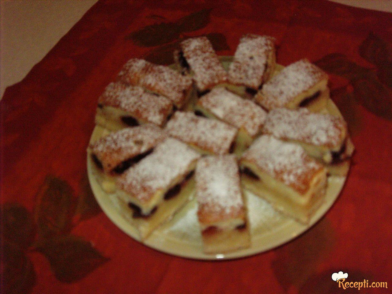 Fini kolač sa višnjama