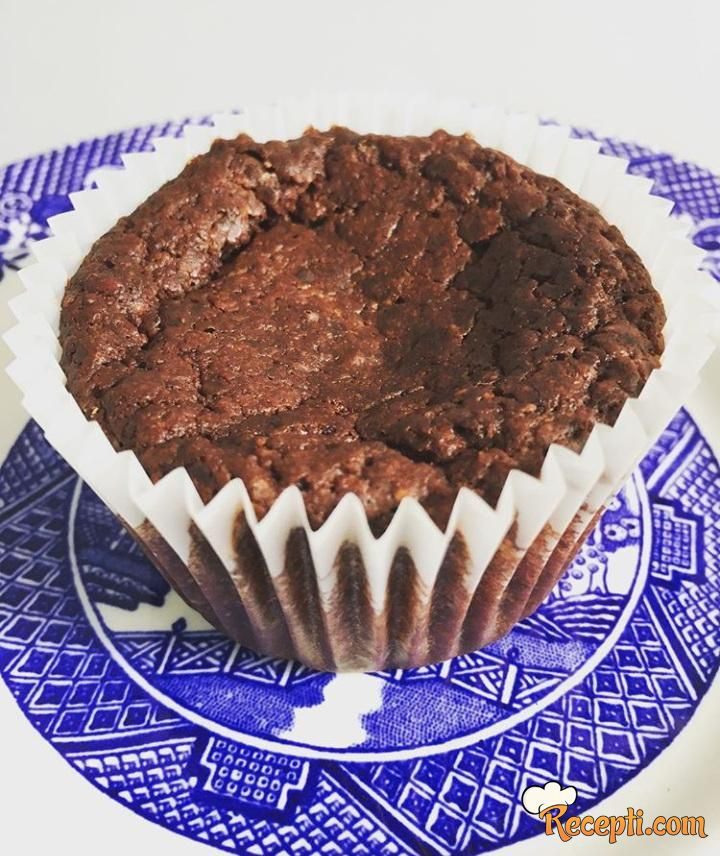 Skroz čokoladni mafini