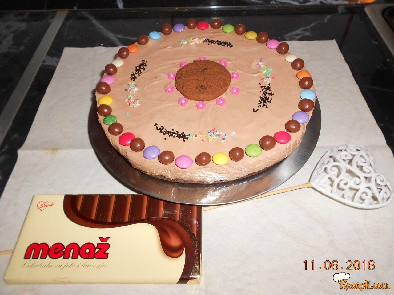 Čokoladni čizkejk (2)