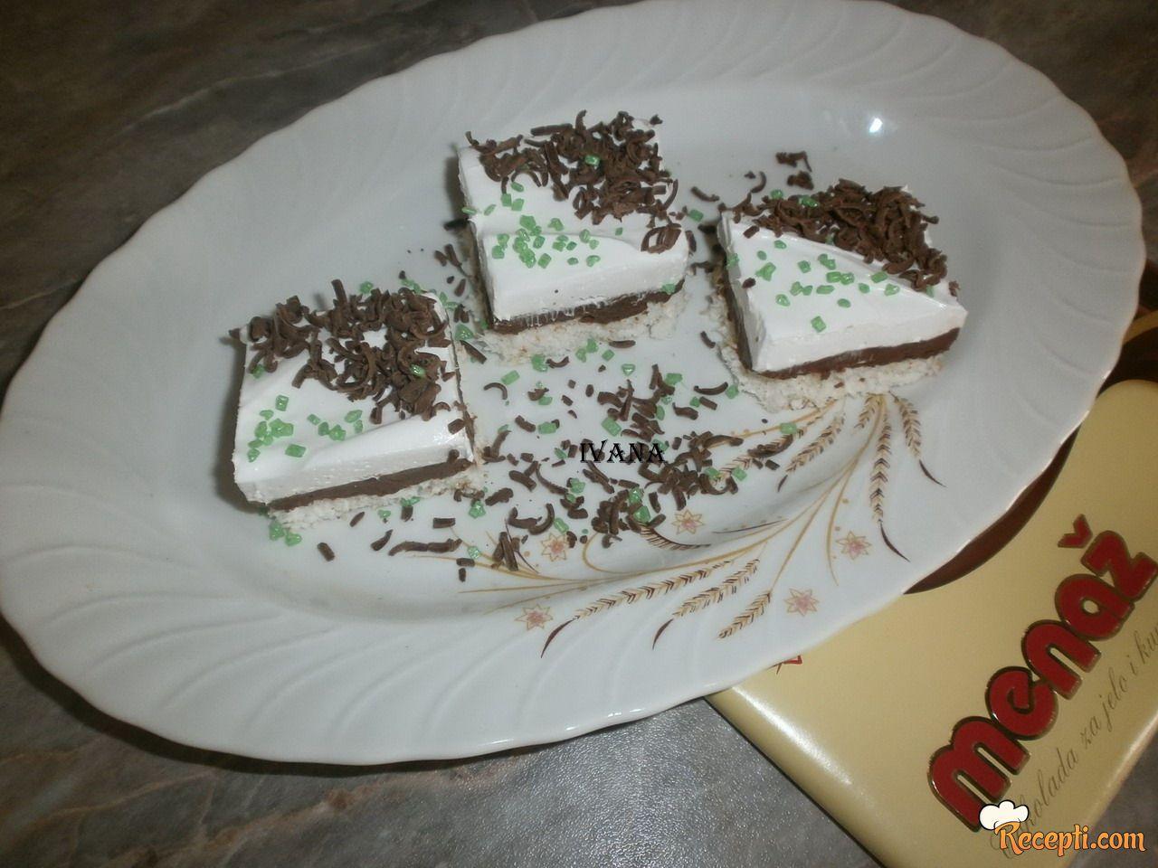 Kolač sa kokosom i čokoladom