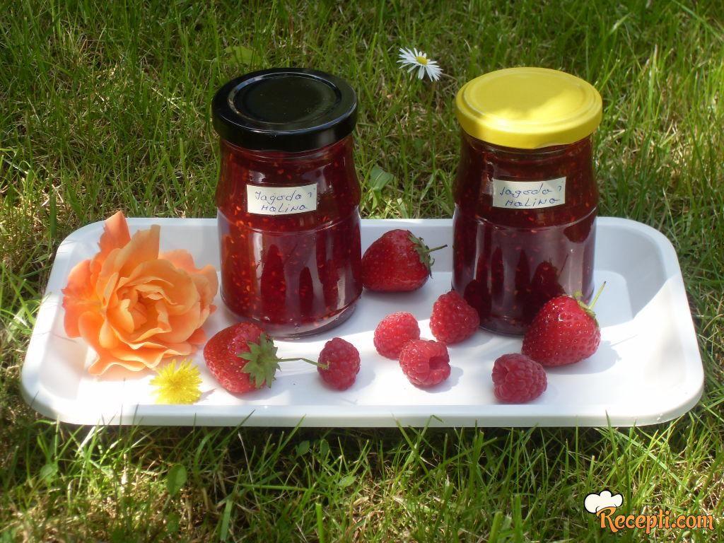 Džem od jagoda i malina