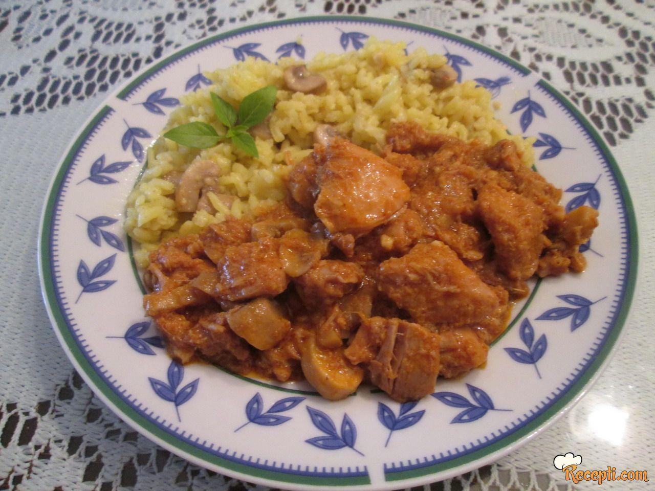 Piletina sa đumbirom