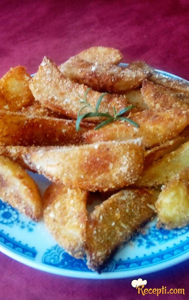 Hrskavi krompir sa prezlama