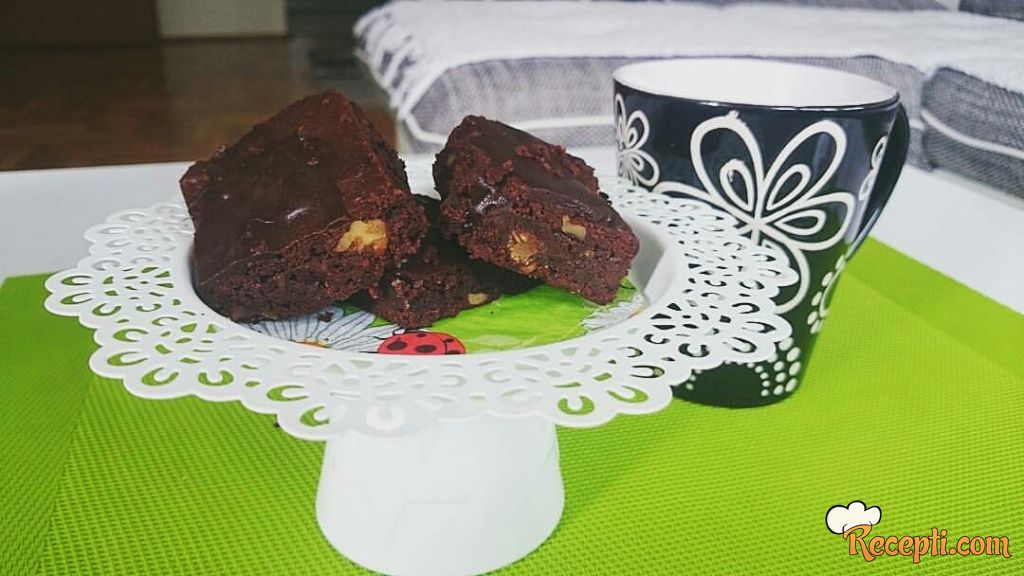 Brownies bez brašna