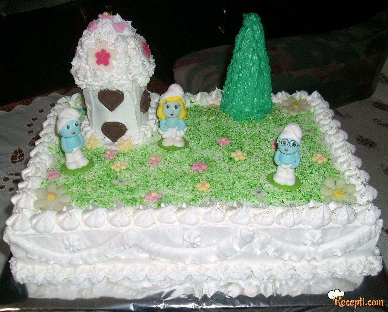 Štrumpfovi torta