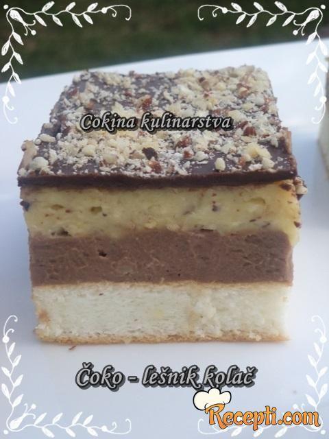 Čoko - lešnik kolač