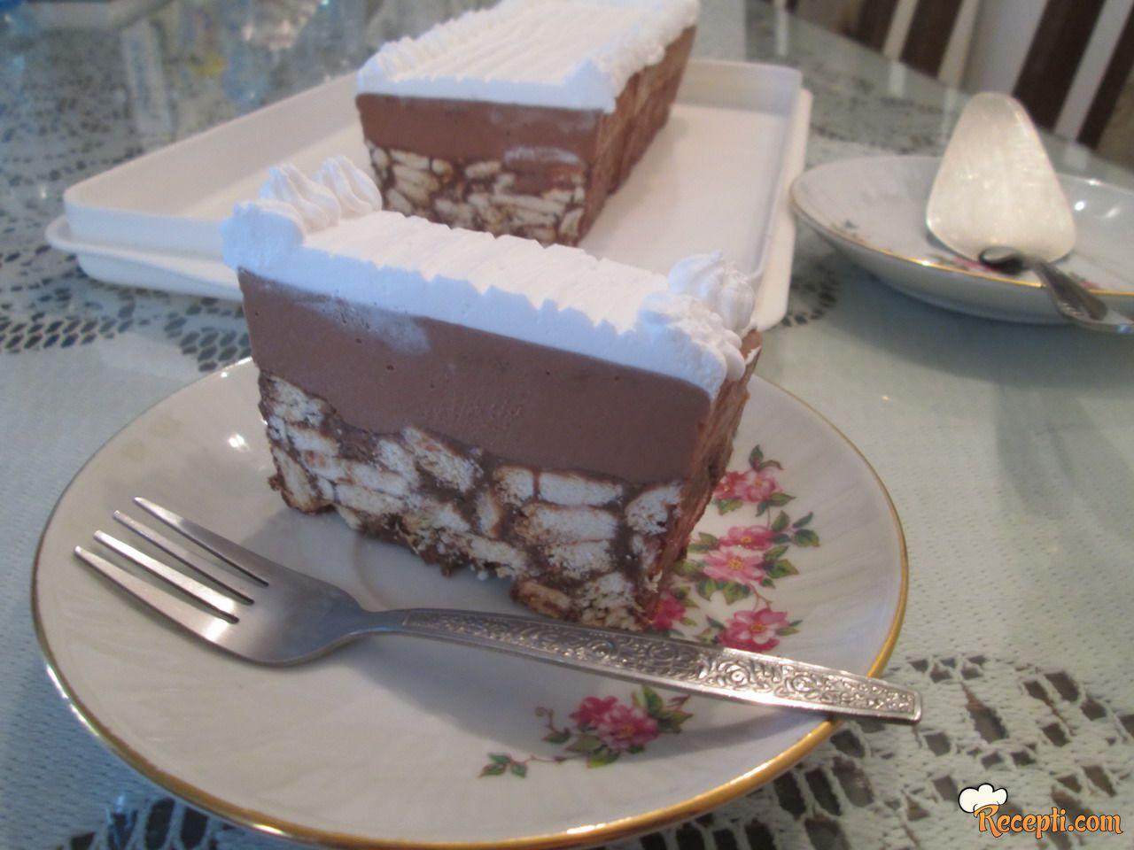 Kremasta keks torta
