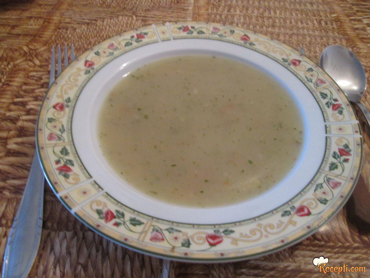 Krem supa sa vrganjima