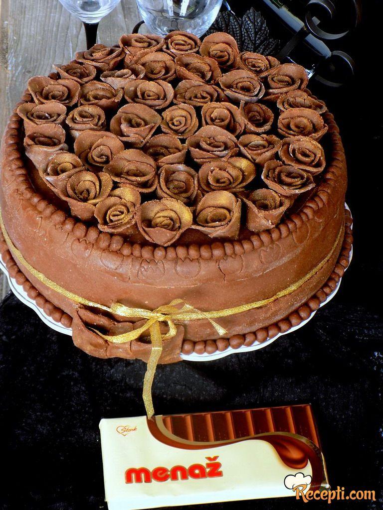 Greta torta sa Menaž čokoladom