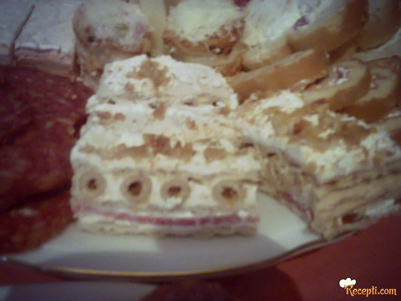 Slana torta da grisinama