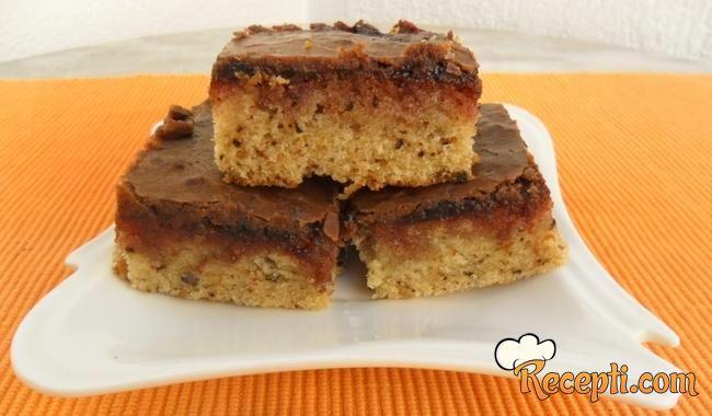 Čokoladni kolač sa orasima