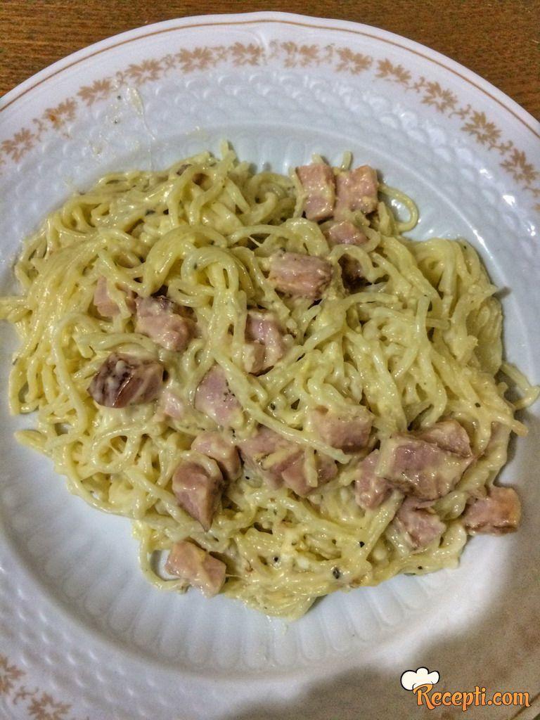 Špagete karbonare (3)