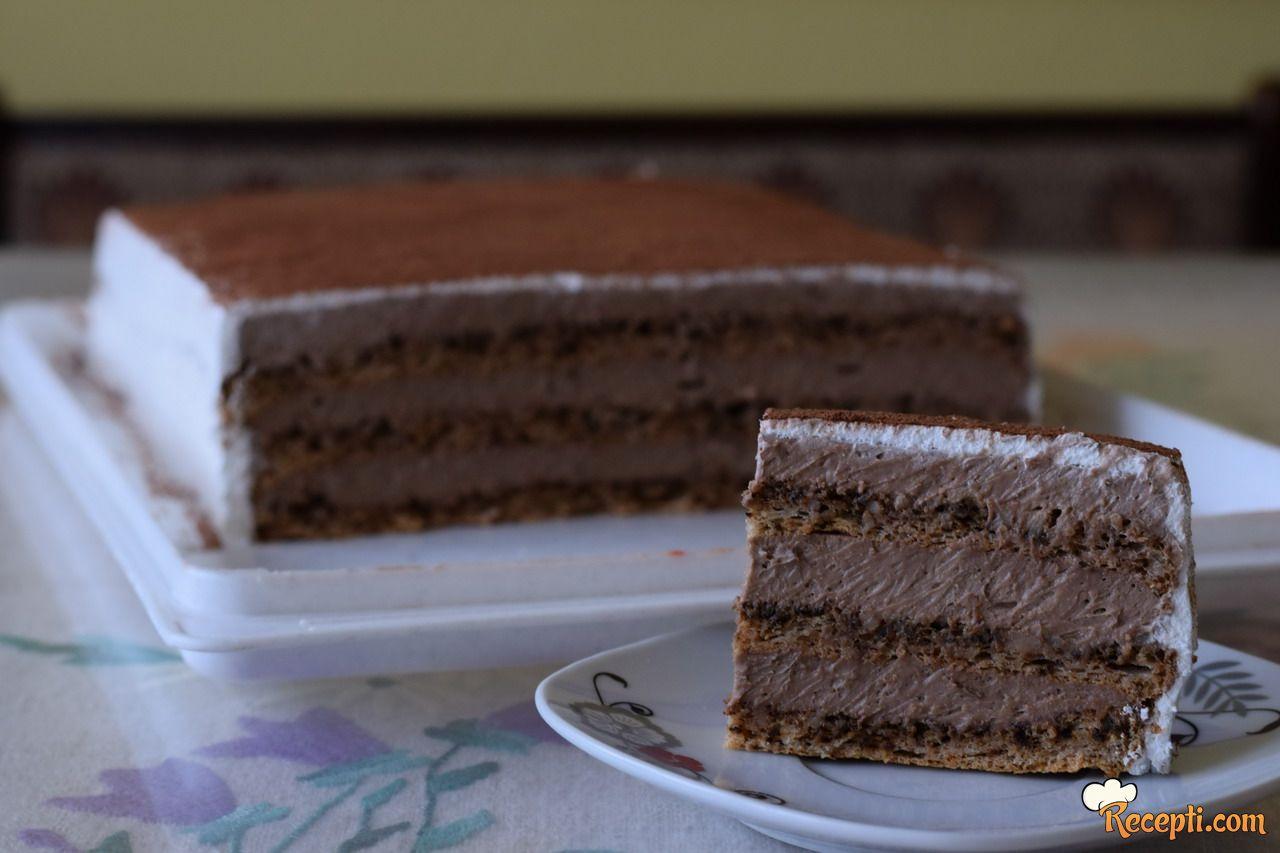 Čokoladna torta sa orasima (2)