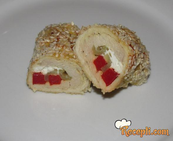 Sesame Chicken Rolls