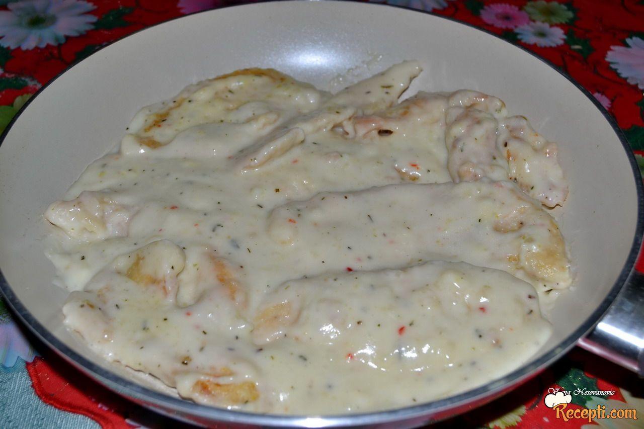 Piletina u umaku od pavlake i vina