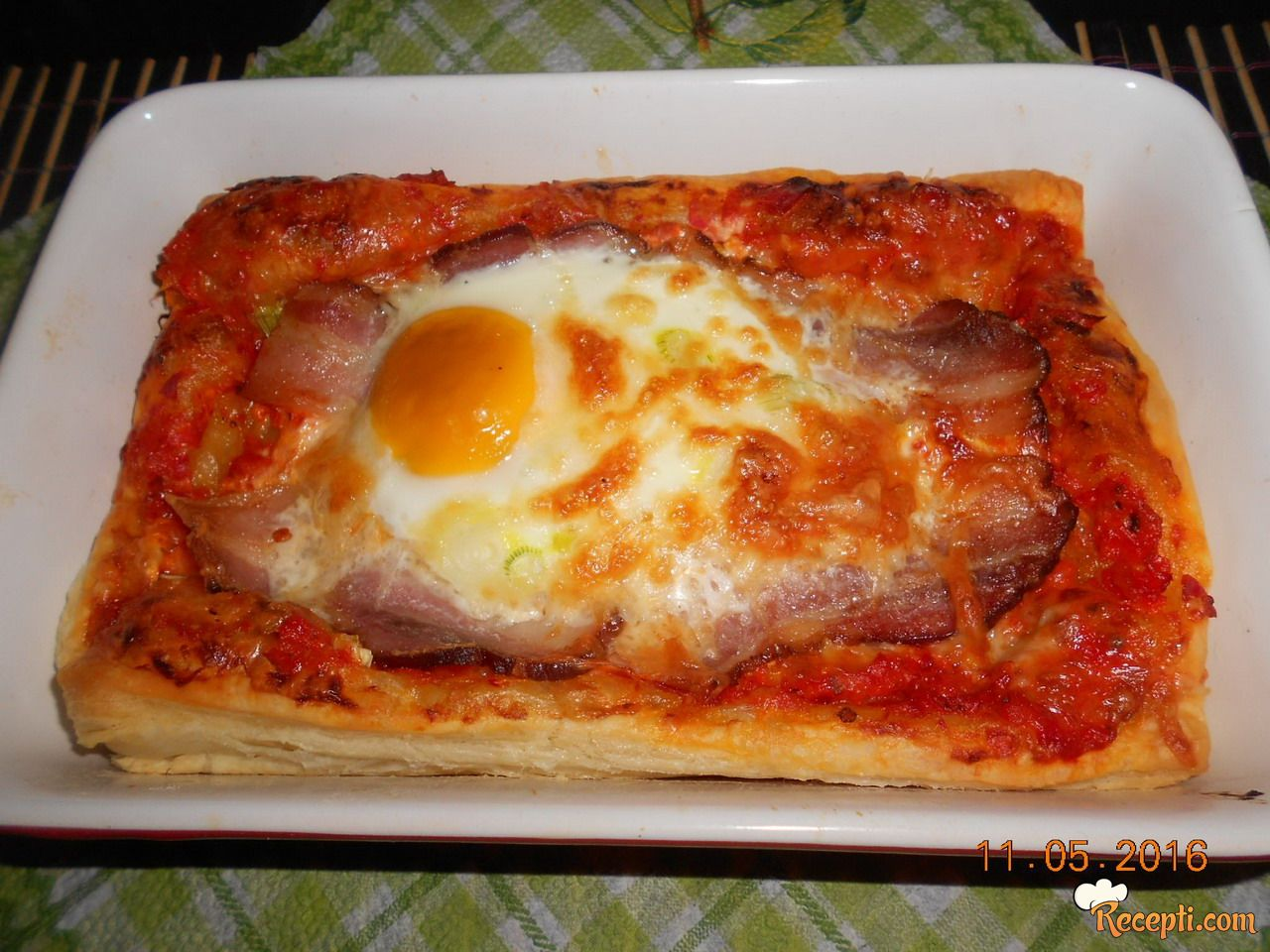 Tart sa slaninom