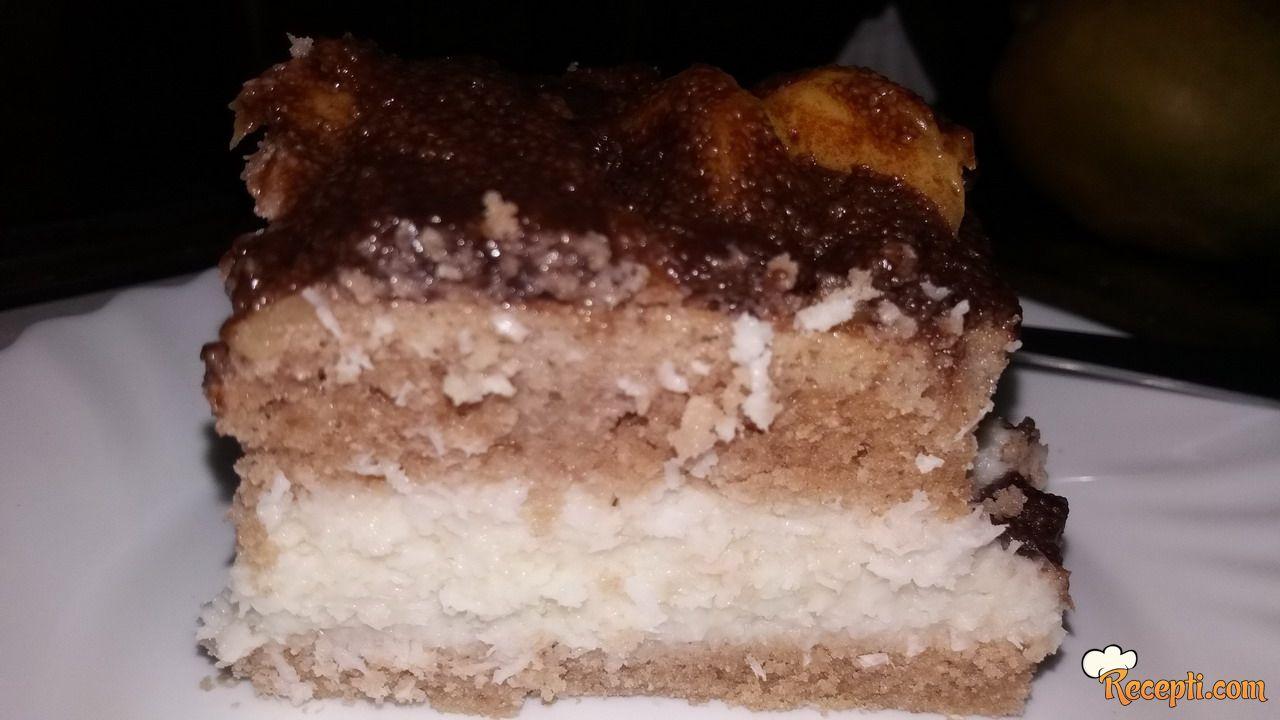Kokos-mango kolač