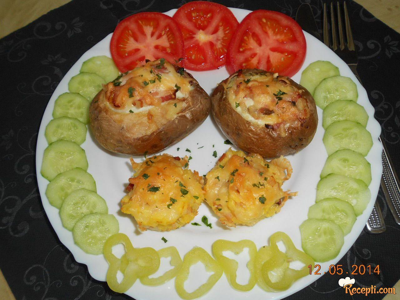 Punjeni pečeni krompiri (2)
