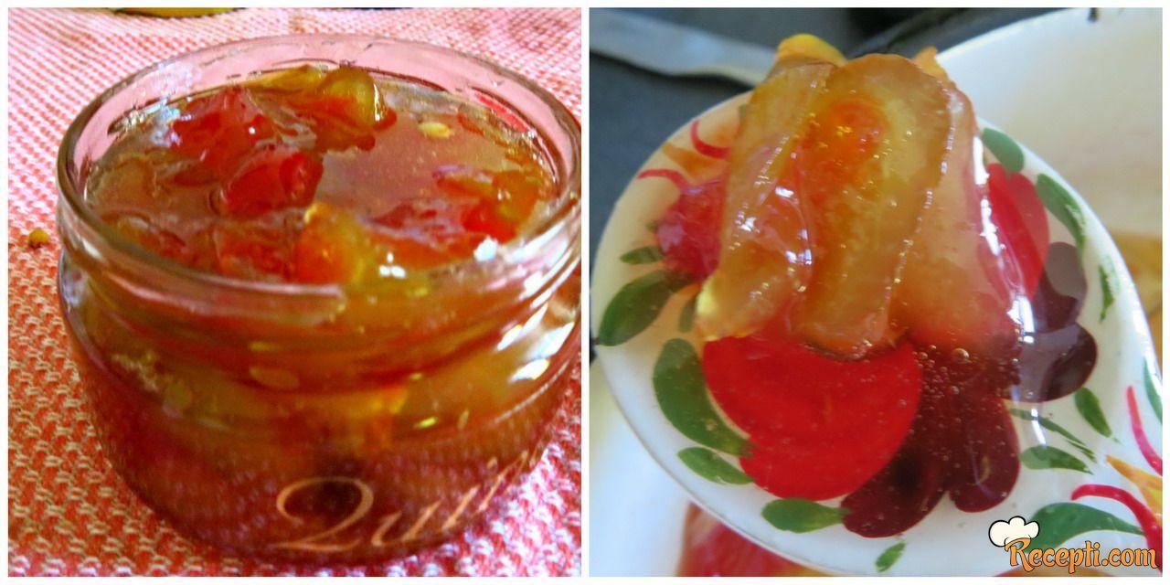 Slatko od kora lubenice