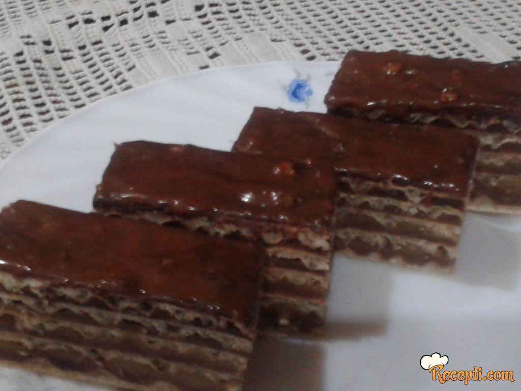 Oblanda sa čokoladom (2)