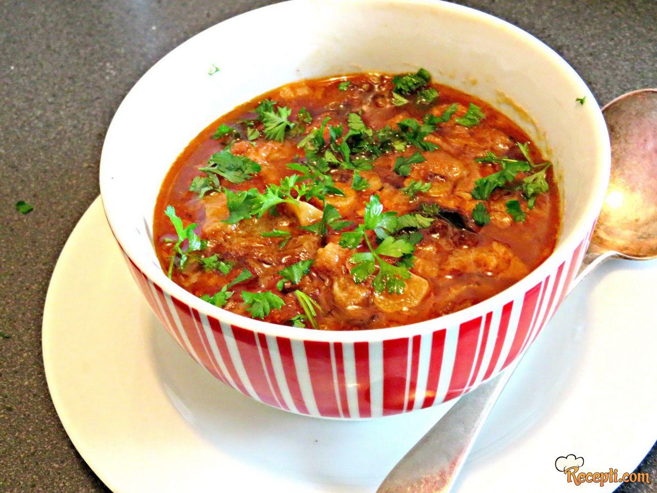 Sopa de Ajo (supa od belog luka)
