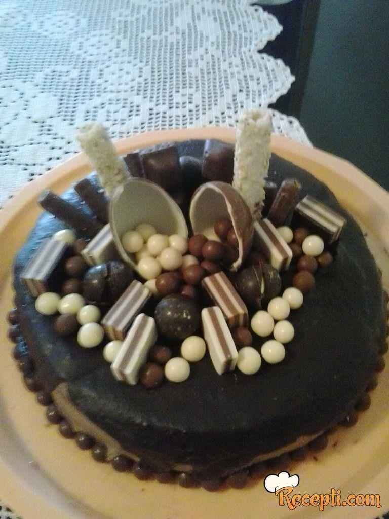 Čoko-čokoladna torta