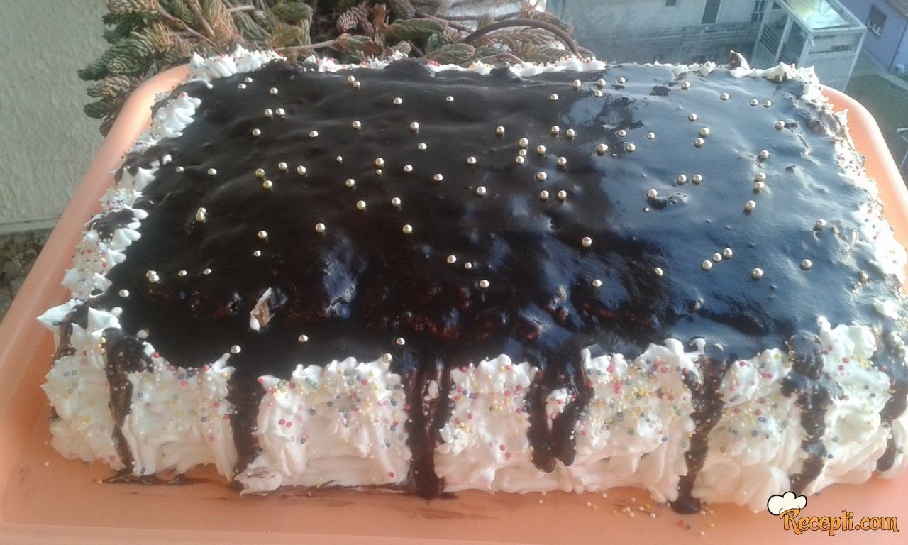 Posna jafa torta