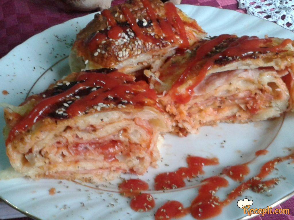 Pizza od kora