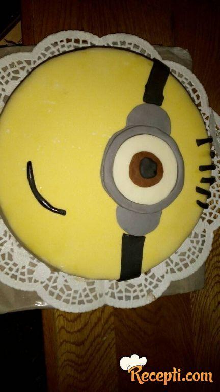 Minions torta (2)