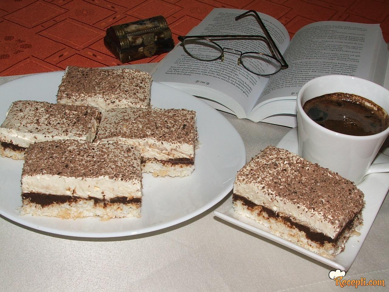 Kokos štanglice sa čokoladom