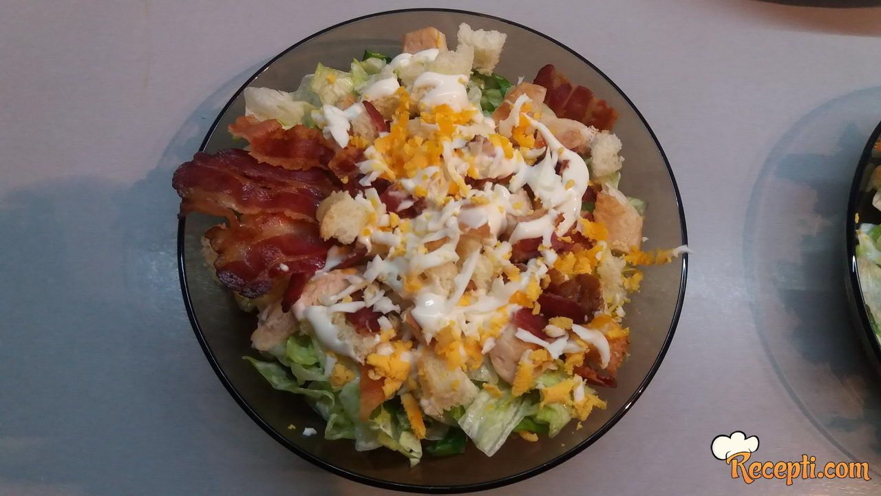 Cezar salata sa jajima
