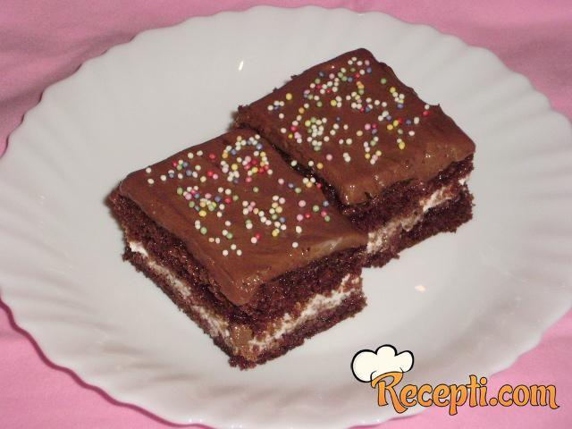Čokoladni kolač sa pavlakom