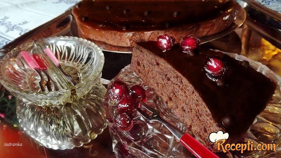 Brzi kolač sa višnjama (4)