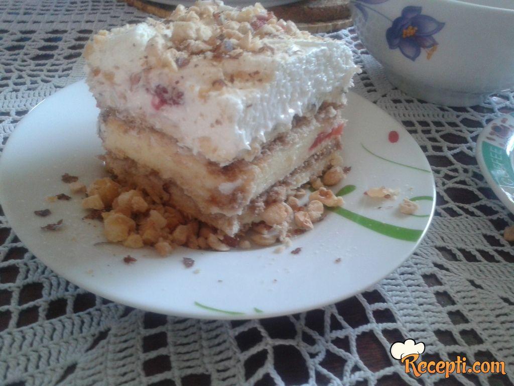 Brza-čoko-keks Fantazija sa jagodom