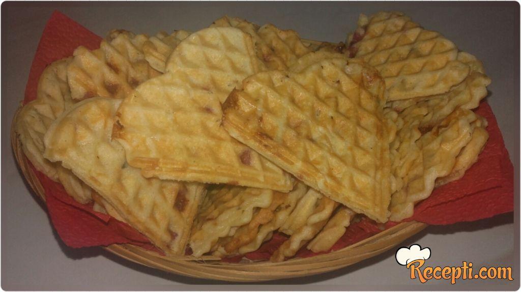 Slani waffle